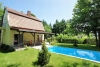 Accommodation in private house. SIO-035 Siofok, House with pool.